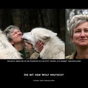 Die mit dem Wolf knutscht