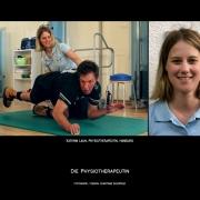 Die Physiotherapeutin