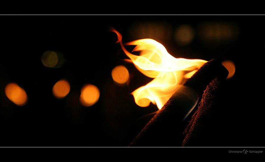 Feuer   Fackelzug
