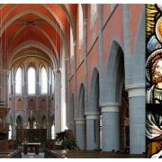 In der Kirche im Zisterzienserkloster Marienstatt