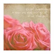 Rosenpapier | Zitat wird Rilke zugeschrieben
